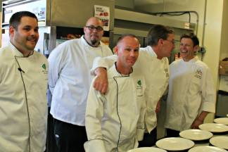 Our GHG Chefs gearing up for the Signature Chef Dinner last year.  Join us for the 2nd Annual Signature Chefs Dinner on May 15th. Call me at 269.226.3144 for reservations!