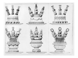 Elaborate Dessert Designs by Carême