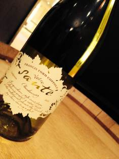 The 2012 Votre Sante delivers the ideal balance of sweet and zesty, and is available on our glass pours list.