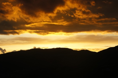 There is nothing like a beautiful sunset in Southern Italy, I miss these a lot.